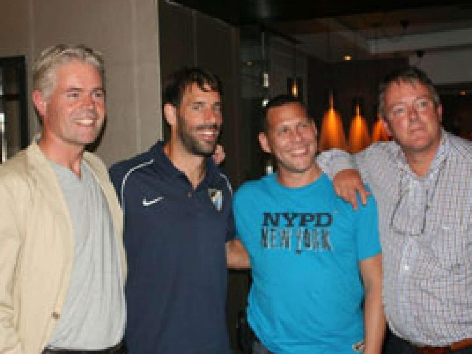 Ruud van Nistelrooy bedankt Soccer Golf Masters!
